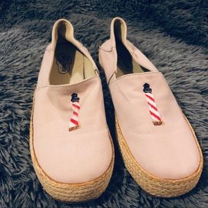 Sperry TopSider lighthouse espadrille shoes sz 7.5